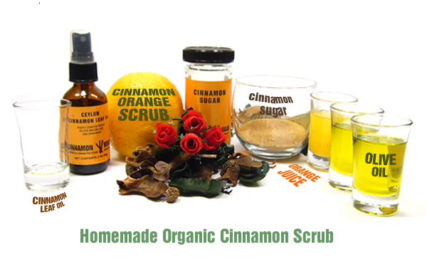 Cinnamon Orange Scrub