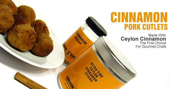 cinnamon pork cutlets